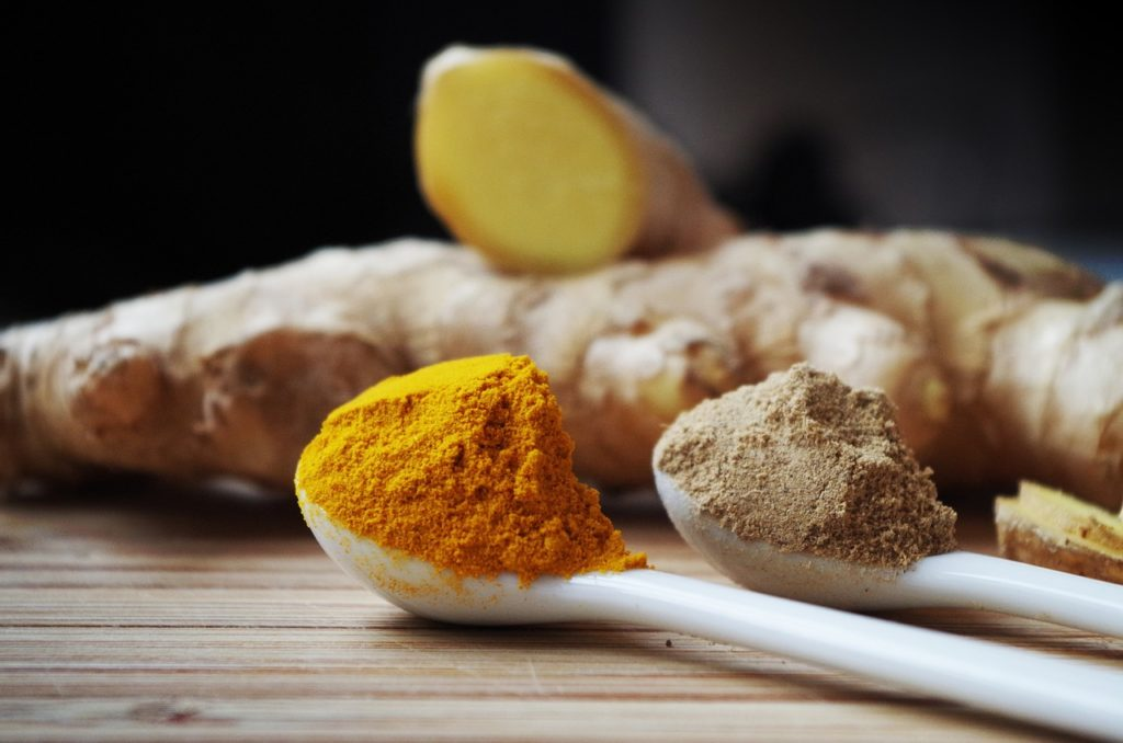 Kurkuma und Ingwer als Lebensmittel gegen Pollenallergie