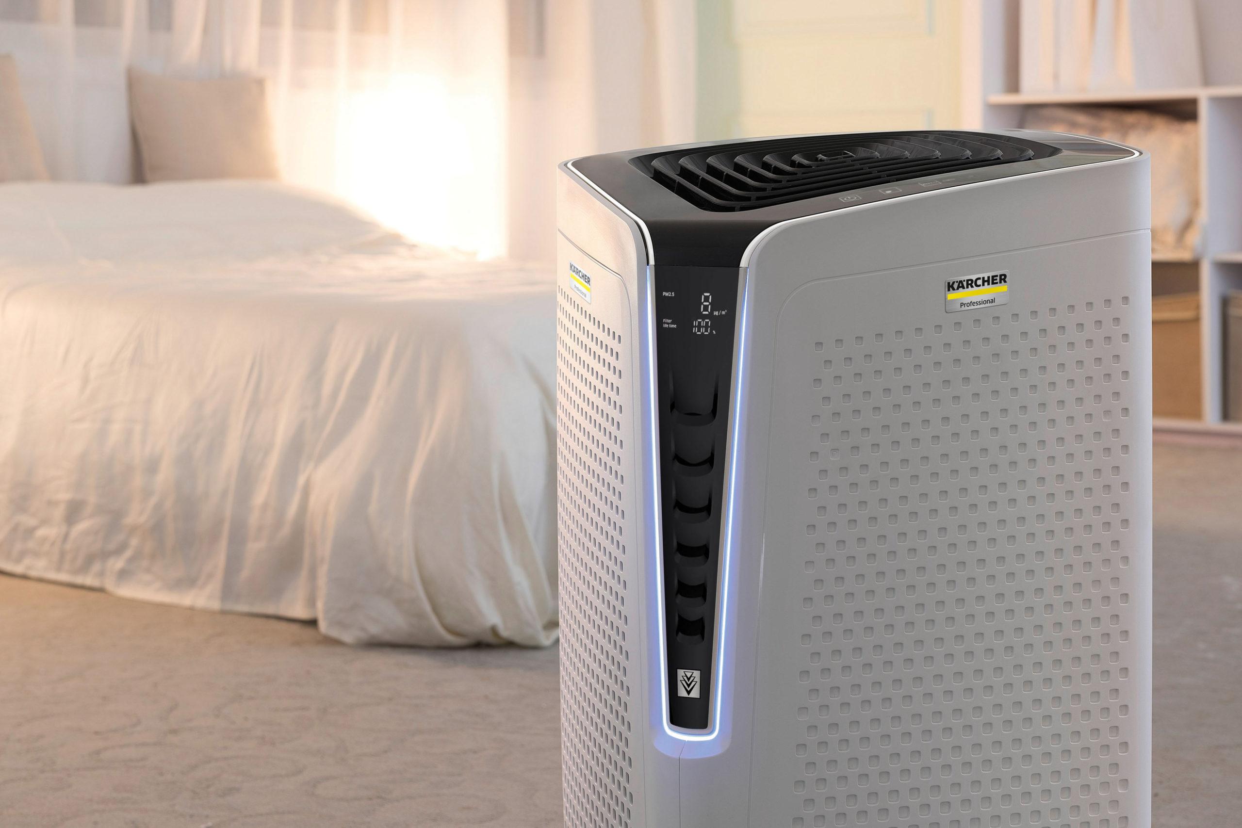 Hochwertige Luftreiniger im Schlafzimmer